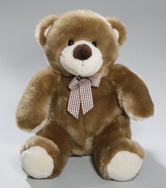 Bär mit Schleife Teddy Plüschbär braun 24cm Kuschlbär CD-3008-00