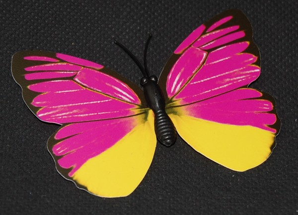 Magnet Schmetterling pink/rosa 70x55 mm - BFRO0002