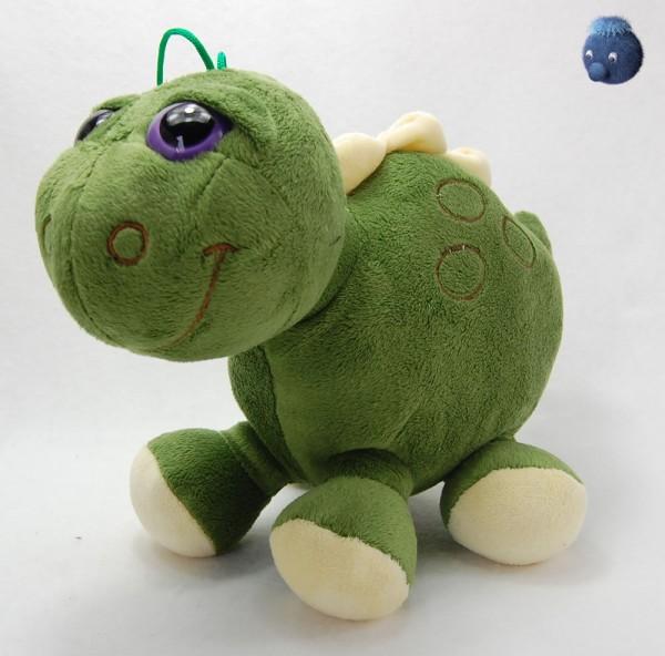 Dino grün stehend aus Plüsch ★ Plüsch Dino 30 cm