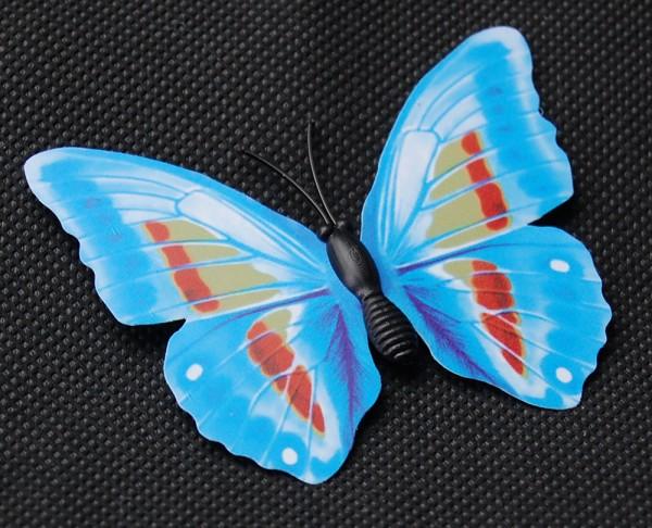 Magnet Schmetterling blau 70x50 mm - BFBL0024