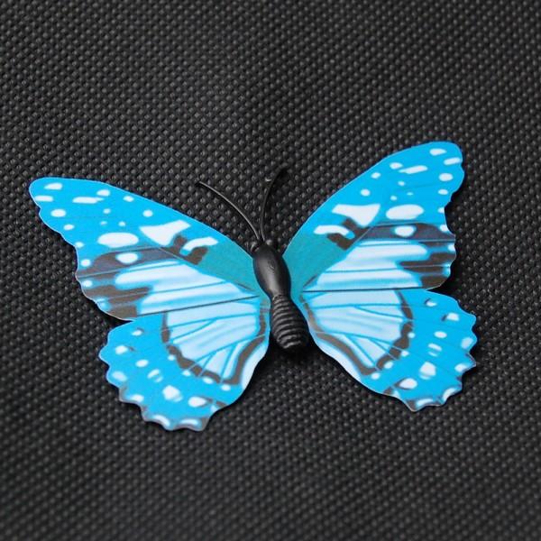 Magnet Schmetterling blau 70x50 mm - BFBL0001