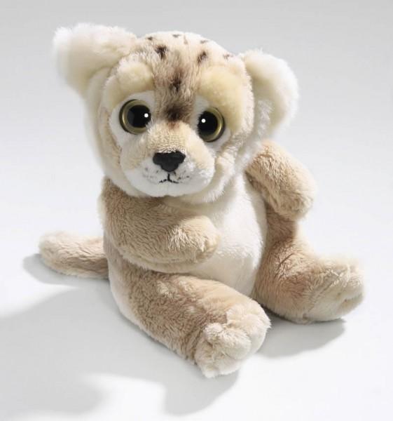 Löwin braun sitzend aus Plüsch mit großen Augen, Plüsch Löwe 15 cm - Kuscheltier CD-3028-01