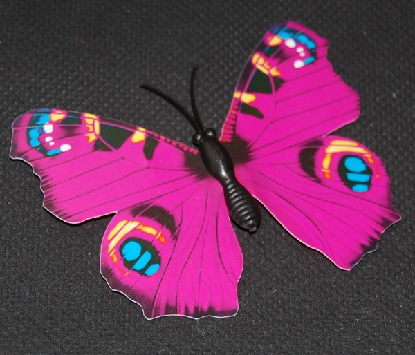 Magnet Schmetterling pink/rosa 70x55 mm - BFRO0017