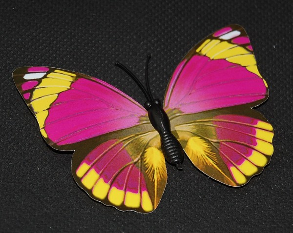 Magnet Schmetterling pink/rosa 70x50 mm - BFRO0013