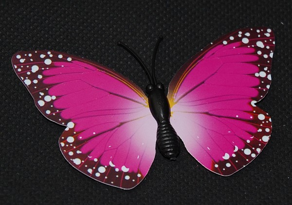 Magnet Schmetterling pink/rosa 70x50 mm - BFRO0006