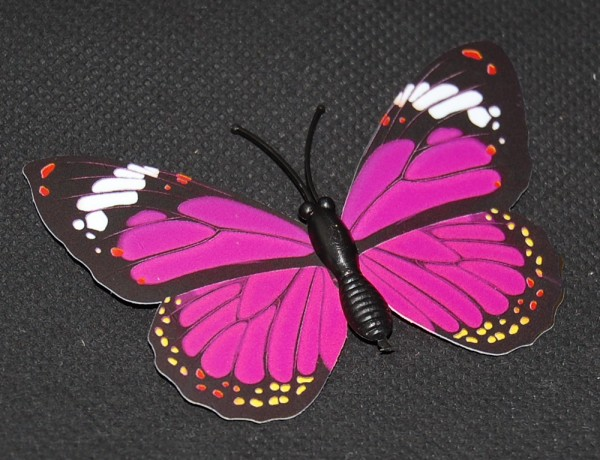 Magnet Schmetterling pink/rosa 70x50 mm - BFRO0011