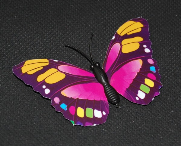 Magnet Schmetterling pink/rosa 70x45 mm - BFRO0024