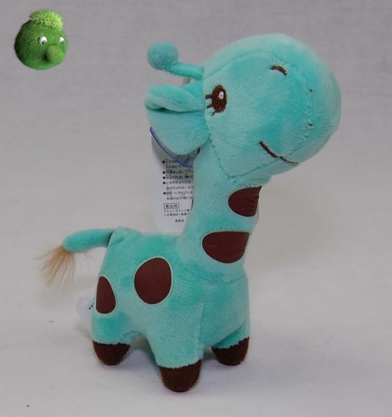 Kleine Giraffe mint mit Saugnapf 17 cm Plüschgiraffe - Kuscheltier 4800001