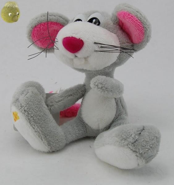 Plüsch Maus ★ Kuschelmaus Cheesy Plüschfigur 18cm PP204400