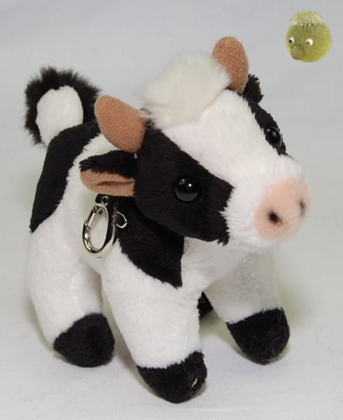 Kuh Schlüsselanhänger ★ Plüschfigur, Plüschkuh 12cm PP241700