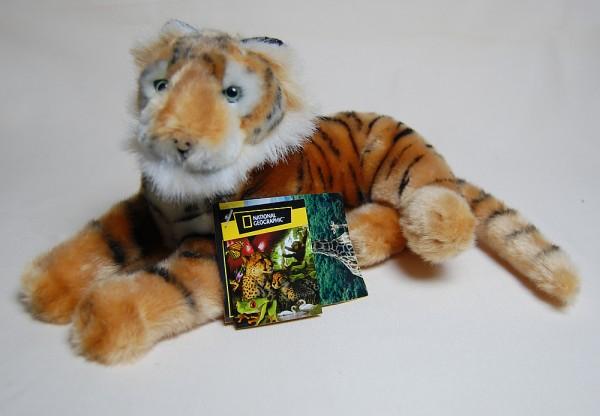 Tiger National Geographic Plüschfigur 25 cm - NG0448400