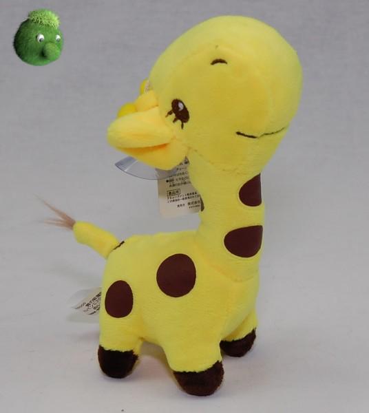 Kleine Giraffe gelb mit Saugnapf 17 cm Plüschgiraffe - Kuscheltier 4800003