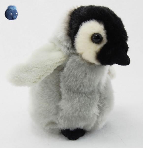 Kaiser Pinguin Junges stehend aus Plüsch ★ Plüsch Pinguin 19 cm