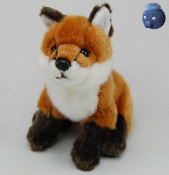 Fuchs sitzend aus Plüsch ★ Plüsch Fuchs 21 cm