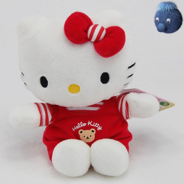 Hello Kitty ★ Plüschfigur rot 16 cm - HK180502