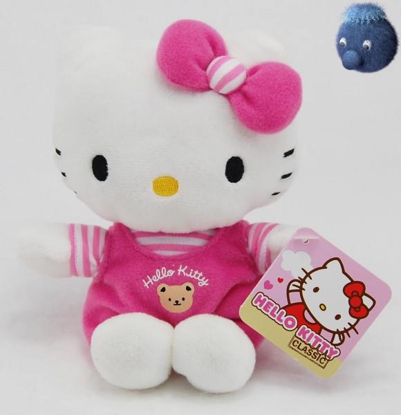 Hello Kitty ★ Plüschfigur rosa 16 cm - HK180501